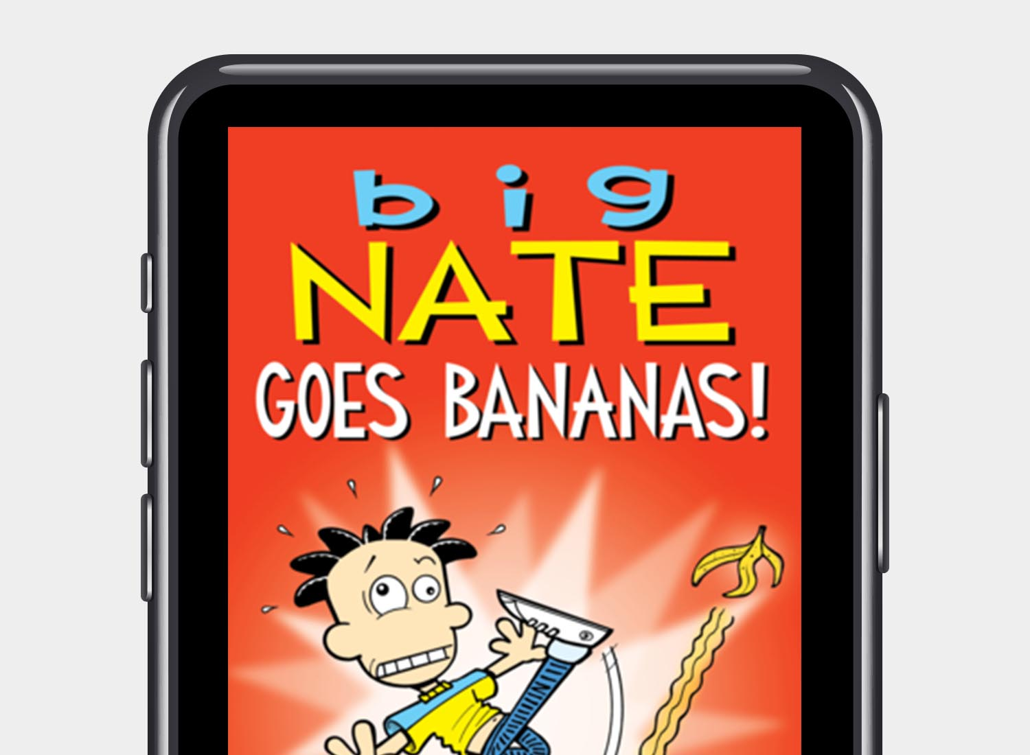 Big Nate Goes Bananas cover