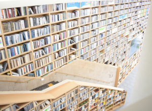 Book staircase at Ulsan Library