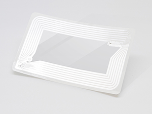 RFID tag rectangleClear - Library Supplies
