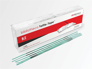 Tattle Tape Security Strips B2 - Fournitures de bibliothèque